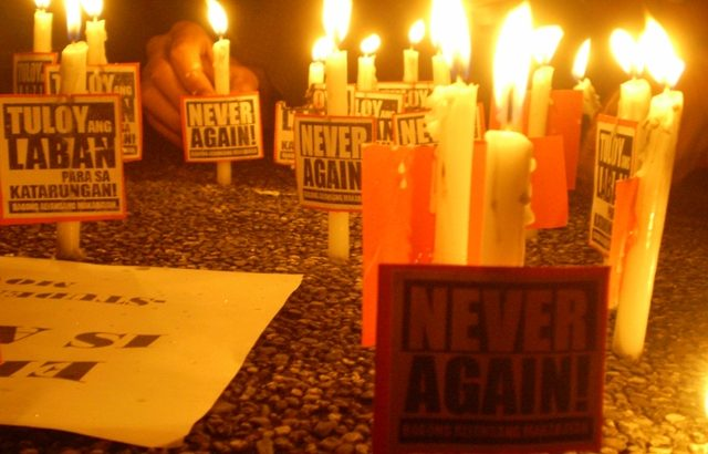 Martial law victims demand formation of Claims Board
