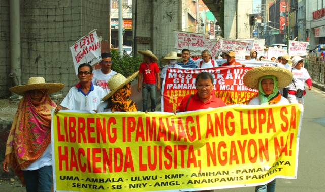 Luisita farm workers say DAR's moves favor President's kin