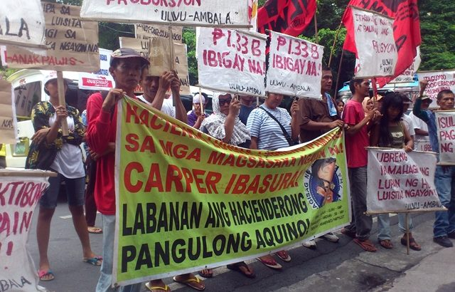 Luisita farmers ask Supreme Court to order the immediate audit of HLI