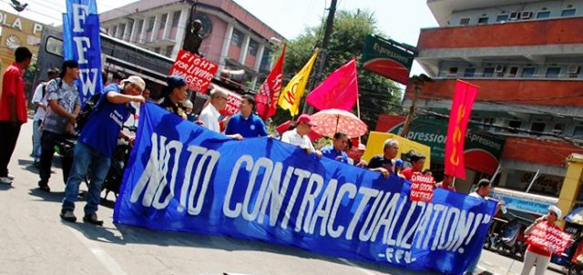 'Women workers betrayed by Duterte's Endo bill veto'