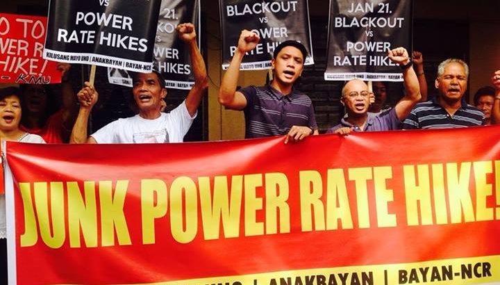 Against power rate hike, workers, youth call for Jan. 21 Blackout Protest