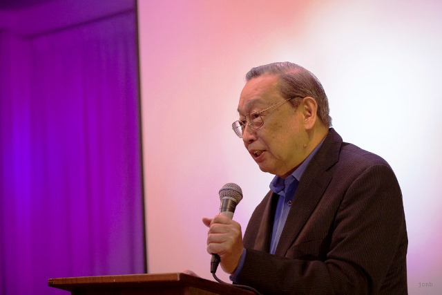 Prof. Jose Ma. Sison at the Netherland launch of his latest book, Feb 9, 2014