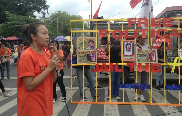 Relatives commemorate Int'l Day Against Torture remembering the disappeared