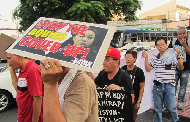 Groups vow more protests vs Aquino's defiance of Supreme Court decision on DAP
