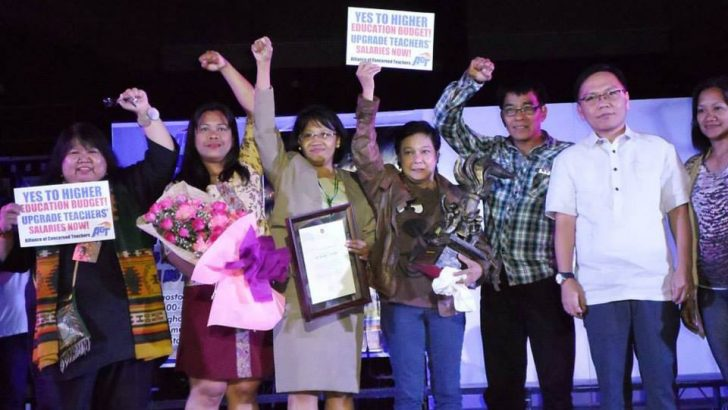Teachers' group confers 'Pambansang Artista ng Mamamayan' to Nora Aunor