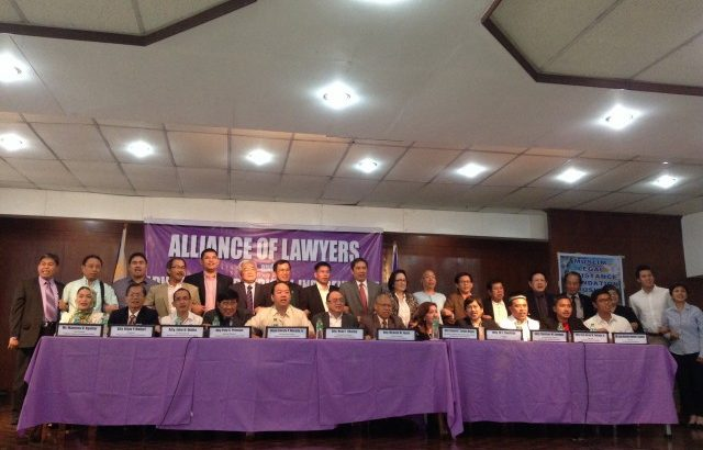 Lawyers decry Aquino's attack on judicial independence