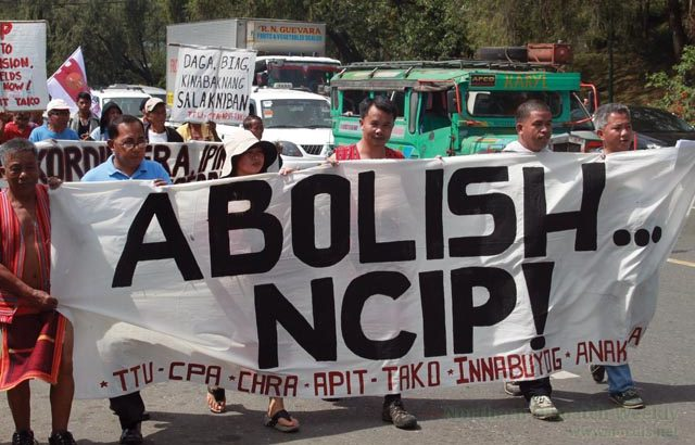 Cordillera folk call for NCIP abolition