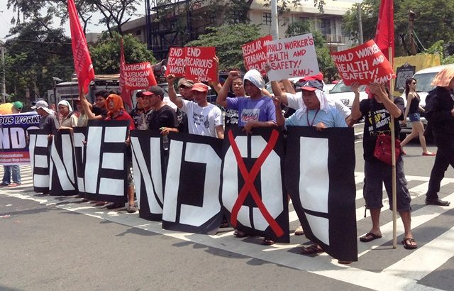 Workers not surprised with Duterte's veto of security of tenure bill