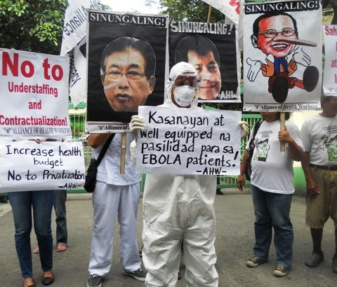 Health workers storm DOH