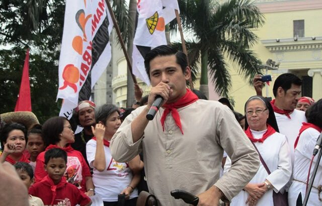 Robin Padilla joins progressives' commemoration of Andres Bonifacio
