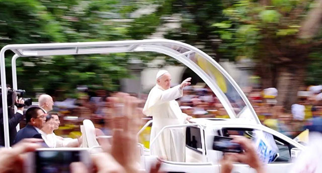 Climate change activists laud papal encyclical