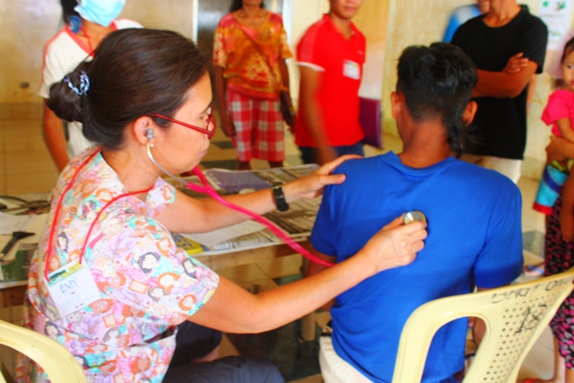 Health workers have noted several cases of tuberculosis among the evacuees. (Photo by A. Umil/ Bulatlat.com)