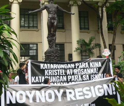 #BlackoutPH | Students walkout 'for education and justice'