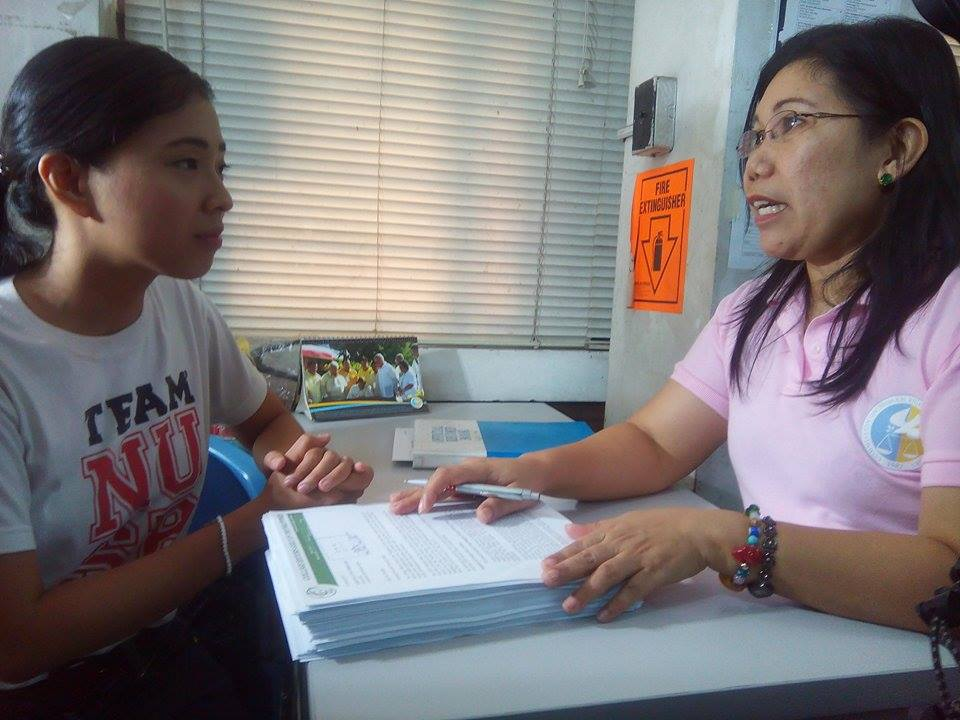 College Editors Guild of the Philippines filed a complaint at the Commission on Human Rights on cases of violations of students democratic rights. (Photo courtesy of College Editors' Guild of the Philippines)
