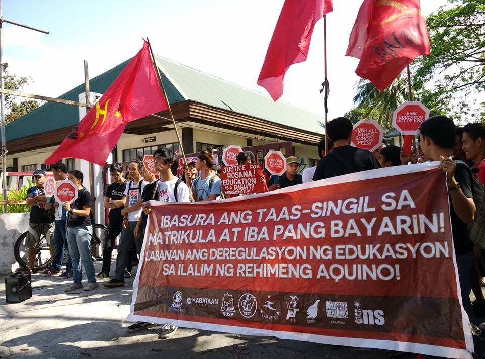 (Photo courtesy of Anakbayan)