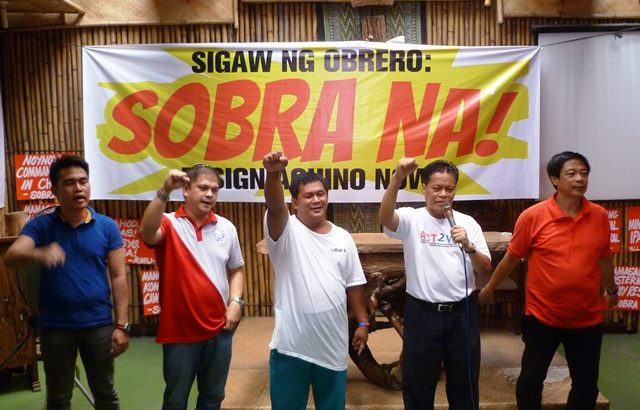 Workers form Aquino Resign alliance