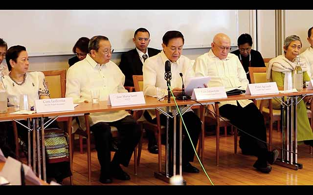 Joma: Aquino lacks sincerity in peace talks