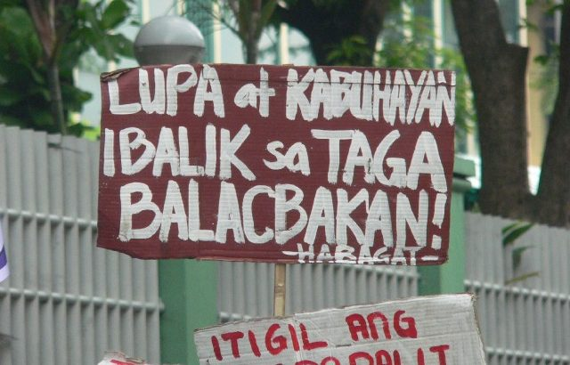 Batangas fisherfolk want to reclaim their community