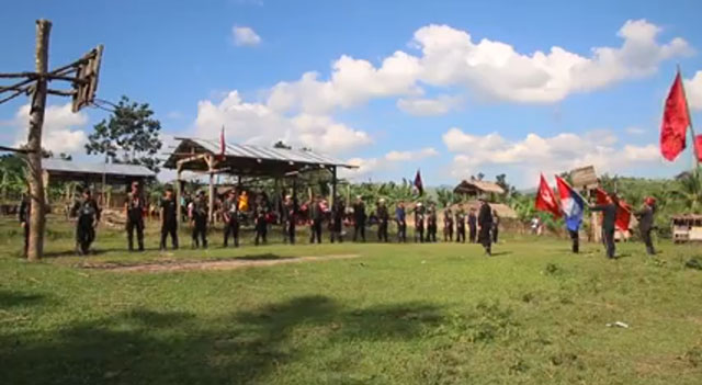 NPA honors Parago with 21-gun salute