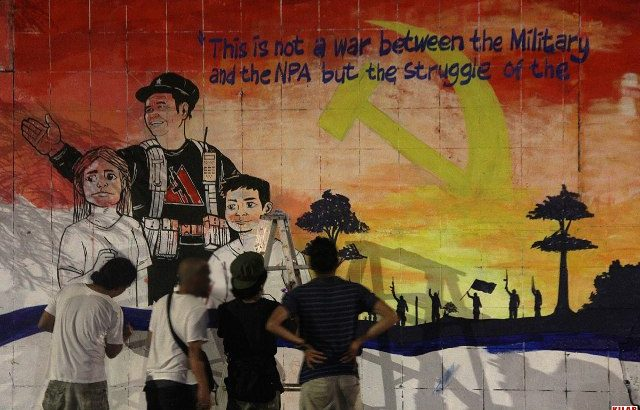 'Ka Parago' image painted in Davao City's freedom wall