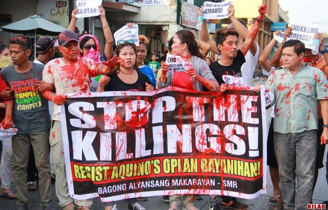 Peasant killings continue in Mindanao
