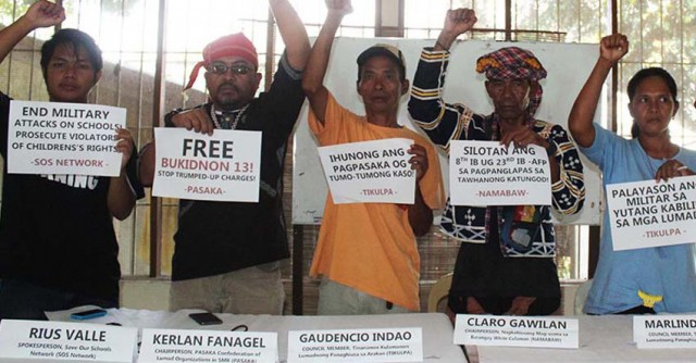 Army arrested peasants, not rebels in Bukidnon, says groups