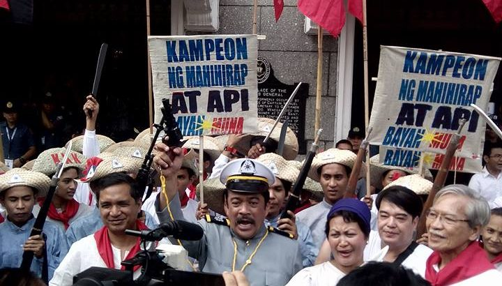 Indigenous peoples, 'Katipuneros' troop to Comelec to file partylist candidacy