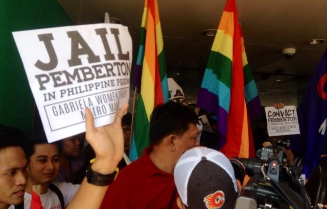 Groups protest deportation order for US serviceman accused in Laude slay