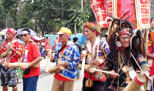 #Manilakbayan2015 | They come from different tribes, places but unite in one struggle