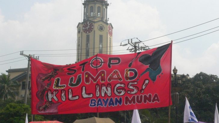 Asian indigenous groups urge Aquino to end Lumad killings