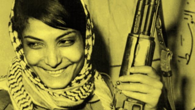 Leila Khaled Palestinian freedom fighter