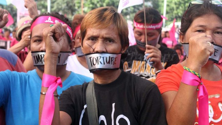 #LabananAngAbuso |  'One woman or child is raped every 53 minutes'