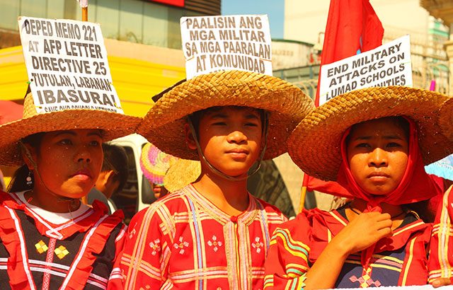 Institute for Lumad studies initiated