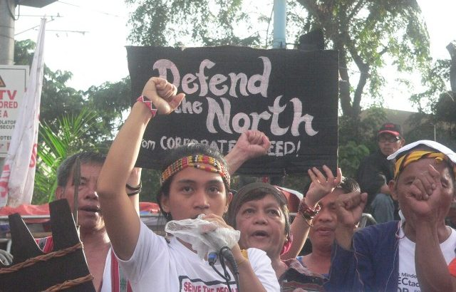 From north to south, indigenous peoples reject Apec, Aquino