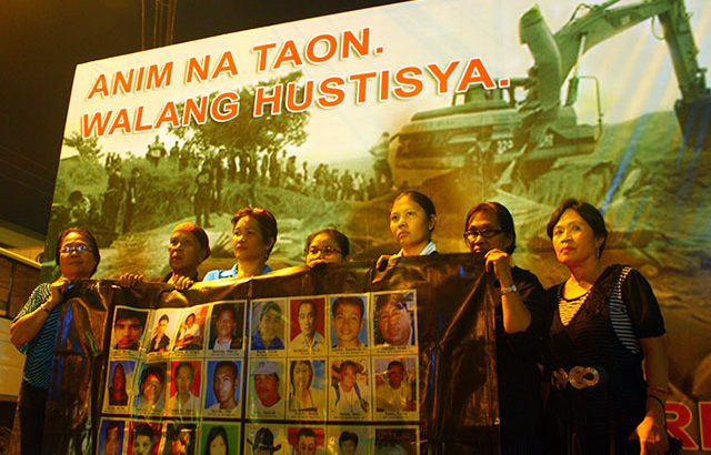 Kin of Ampatuan Massacre victims to Aquino: Where is your promise?