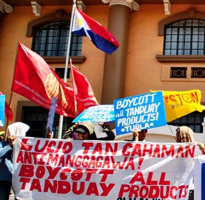 Tanduay Rhum makers to camp out in front of Labor Dept