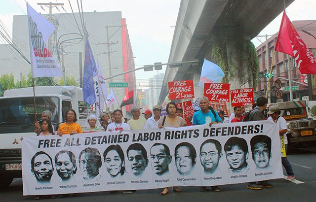 Under Aquino, political dissent is a crime