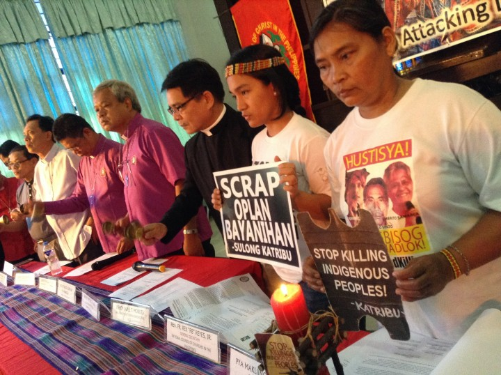 Bishops, IPs call on Aquino to stop attacking Lumad. (Photo by J. Ellao / Bulatlat.com)