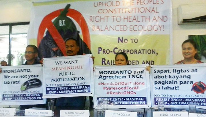 Groups lambast 'railroading' of process for new policy on GMO
