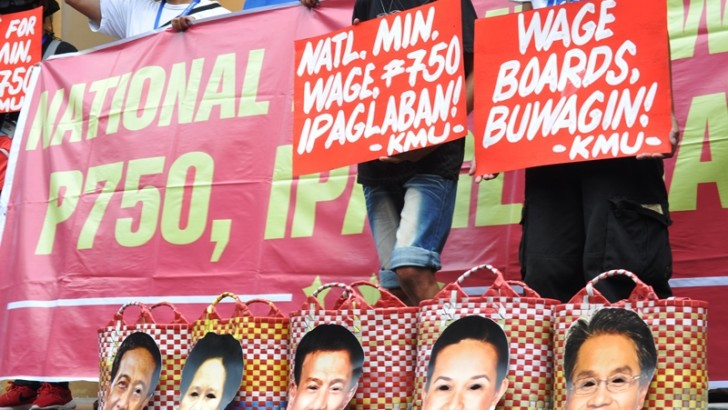 Aquino pressing down wages — KMU
