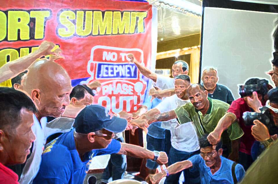 jeepney drivers oppose phaseout