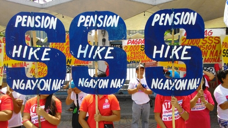 Higher social pension for poor senior citizens