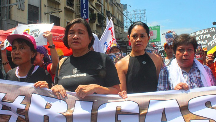 Nora Aunor, Monique Wilson demand justice for Kidapawan farmers