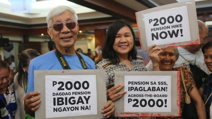 Bayan Muna refiles SSS pension hike bill on Day 1 of Congress