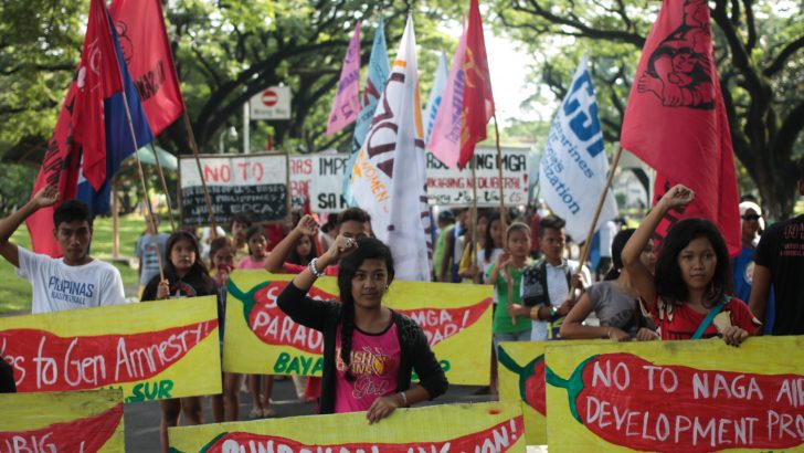 UP Diliman welcomes Bicol 'lakbayanis'
