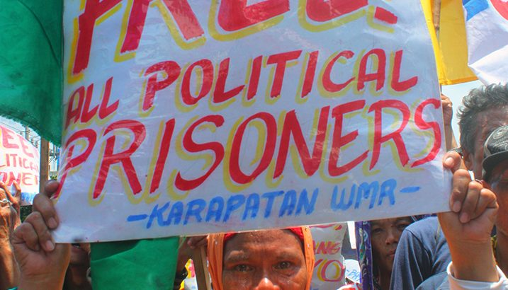 Rights group calls for release of 70-year-old ex-organizer, ailing NDFP consultant