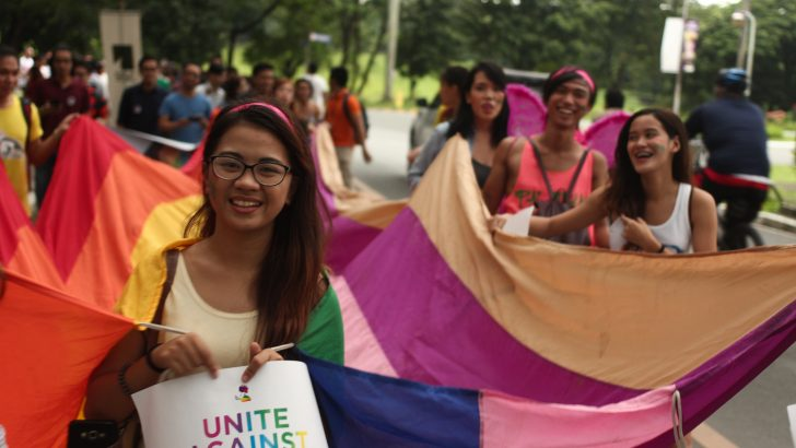 Groups unite in UP LGBT Pride March