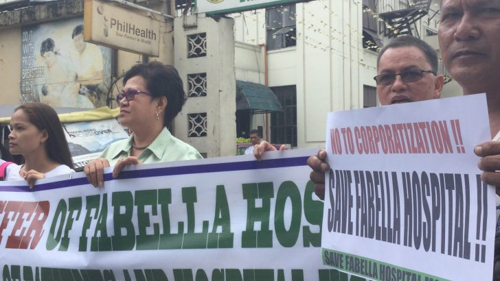 Health workers to file complaints against Fabella management