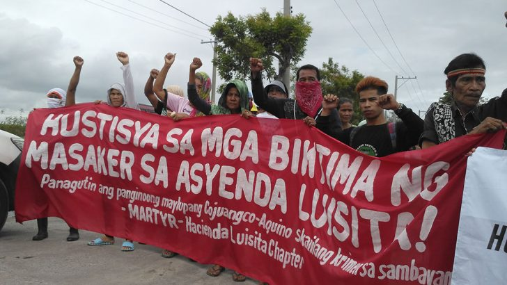 Kin of Luisita massacre martyrs want justice