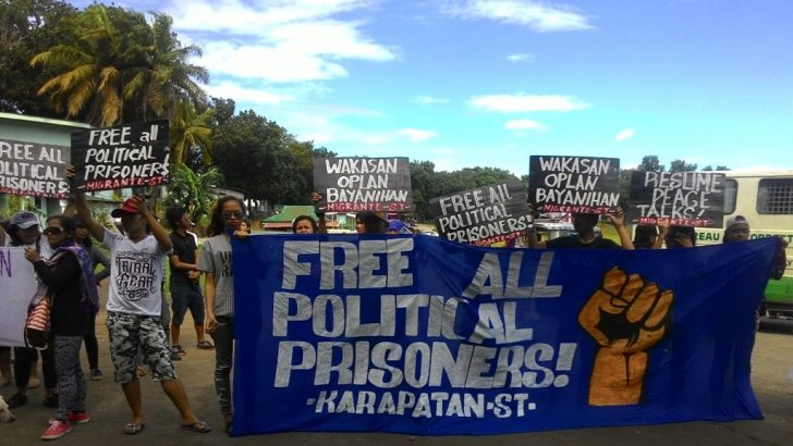 Turning out badly: On Duterte and political prisoners